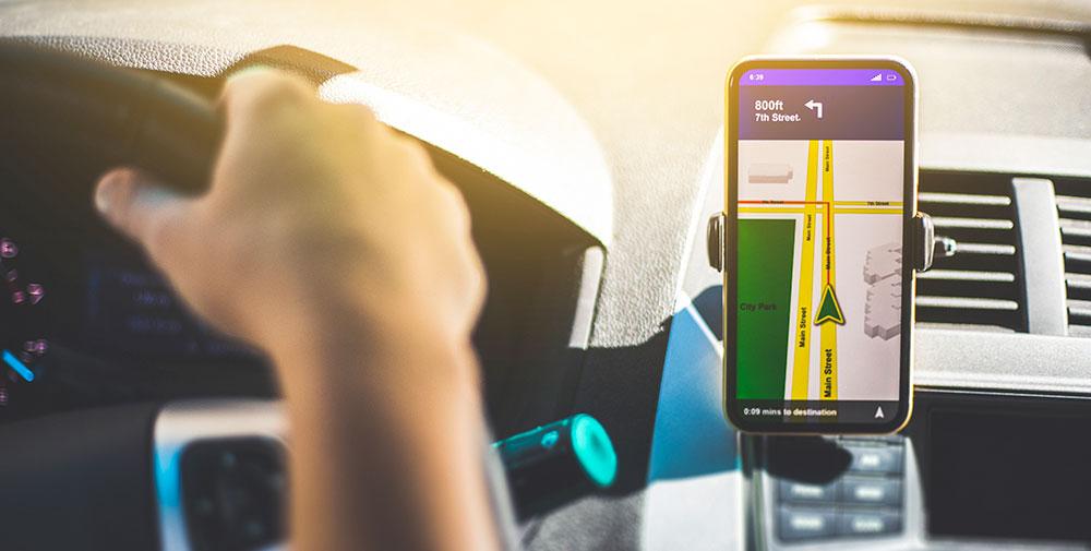 hands free navigation device